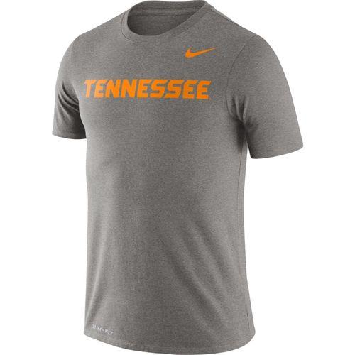 Men's Nike Tennessee Volunteers Legend Wordmark T-Shirt (Dark Heather)