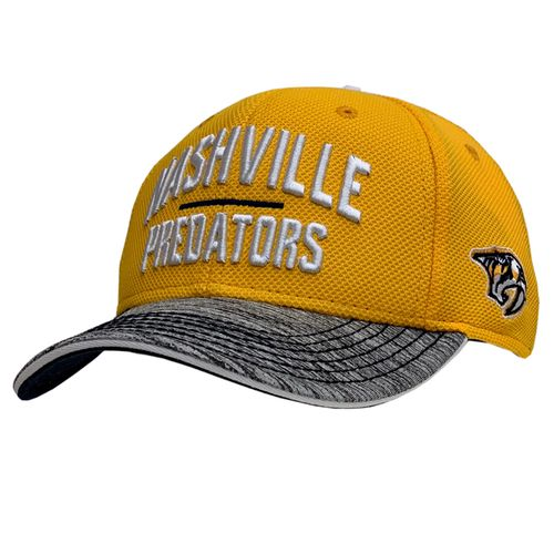 Youth Fanatics Nashville Predators Blueline Structure Adjustable Hat