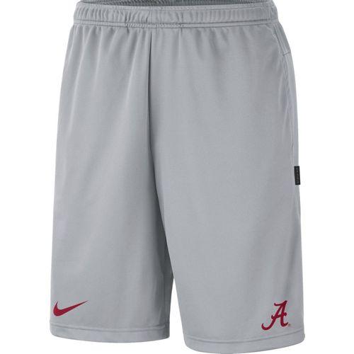 Men's Nike Alabama Crimson Tide Coaches Short (Wolf Grey/Crimson)