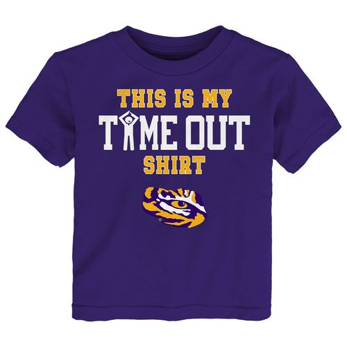 Toddler LSU Tigers Time Out T-Shirt (Purple)