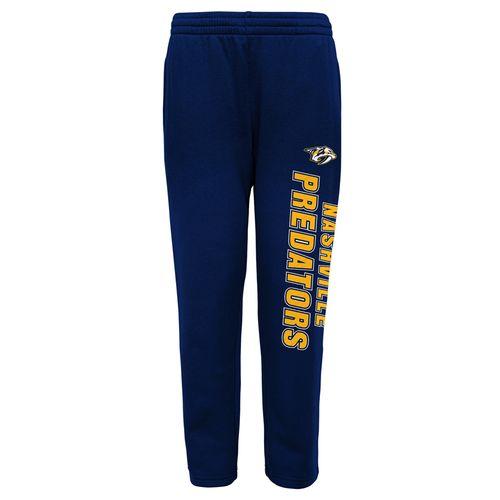 Youth Nashville Predators Post Game Fleece Pants (Navy)