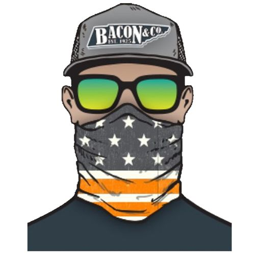 Tennessee Volunteers American Flag Neck Gaiter (Orange/White)
