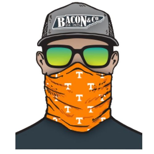 Tennessee Volunteers Power T Neck Gaiter (Orange/White)