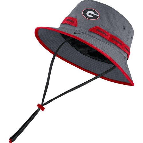 Nike Georgia Bulldogs Dri-FIT Bucket Hat (Grey)