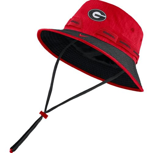 Nike Georgia Bulldogs Dri-FIT Bucket Hat (Red)