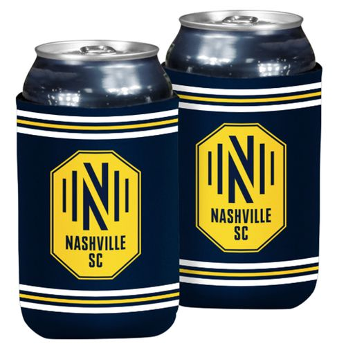 Nashville Soccer Club Flat Coozie