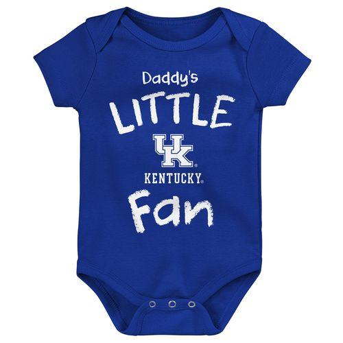 Newborn Kentucky Wildcats Dad's Little Fan Onesie (Royal)