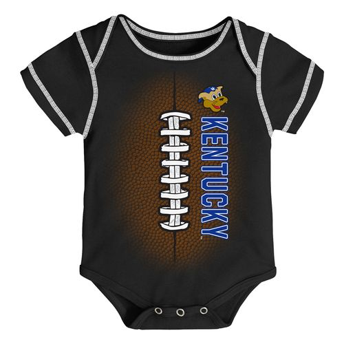 Newborn Kentucky Wildcats Football Onesie (Black)