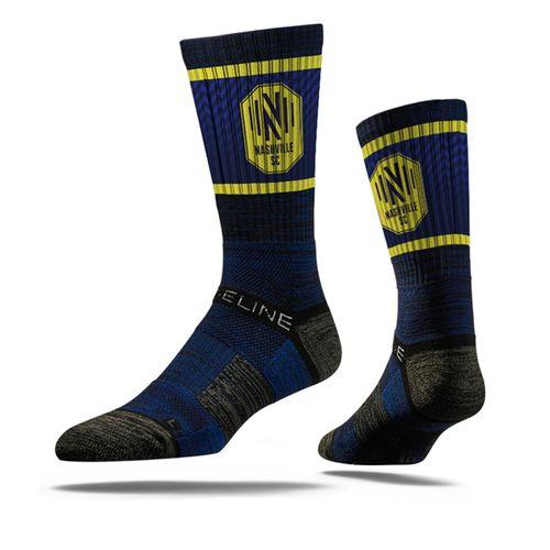 Nashville Soccer Club Premium Crew Sock (Navy)