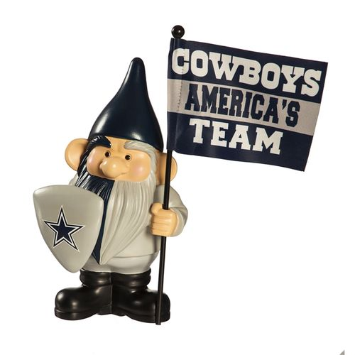 Dallas Cowboys Flag Holder Gnome