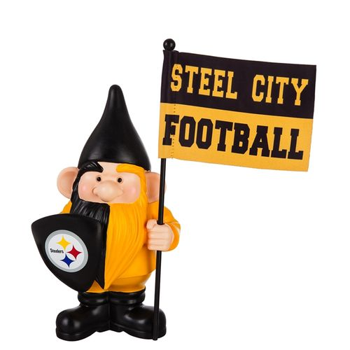 Pittsburgh Steelers Flag Holder Gnome