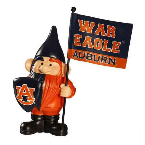 Auburn Tigers Flag Holder Gnome