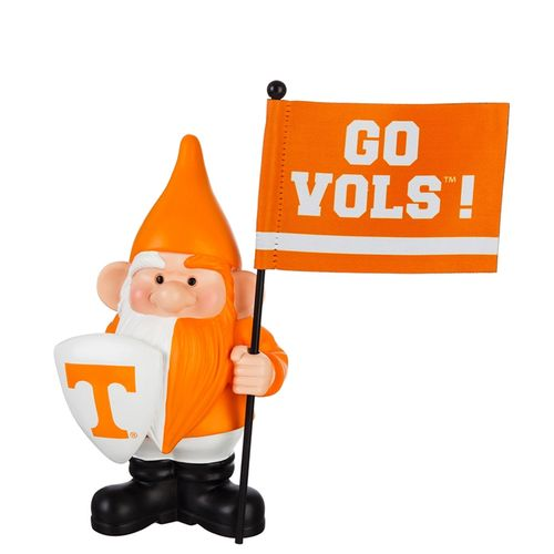 Tennessee Volunteers Flag Holder Gnome