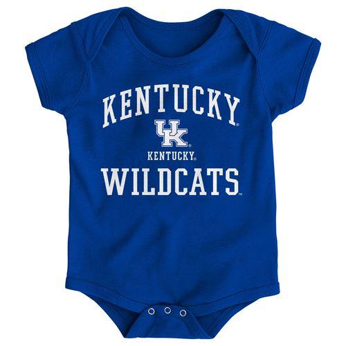 Newborn Kentucky Wildcats Primary Logo Onesie (Royal)