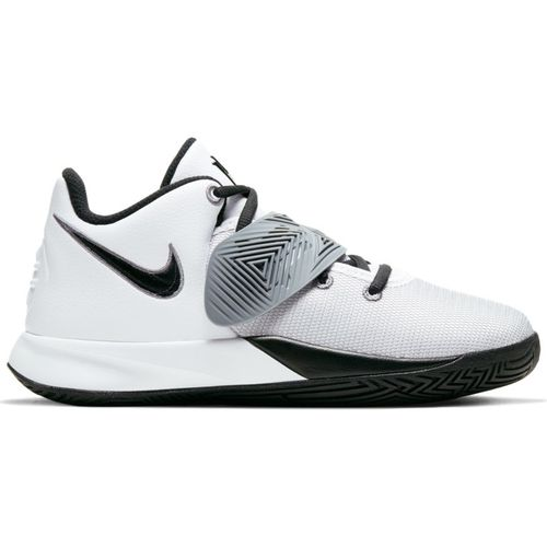 Grade School Nike Kyrie Flytrap 3 (White/Black)