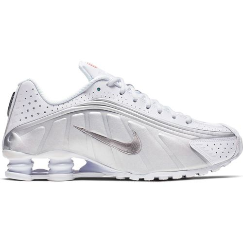 Men's Nike Shox R4 (White/Metallic)