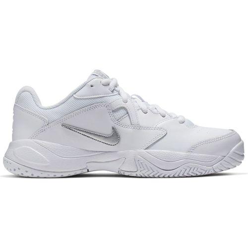 Women's Nike Court Lite 2 (White/Metallic)