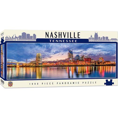 Nashville Skyline Panoramic Puzzle