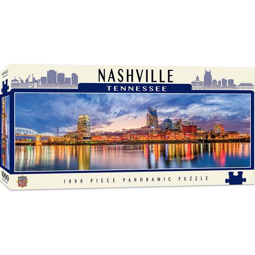 Nashville Skyline Panoramic Puzzle