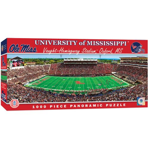 Ole Miss Rebels Panoramic Puzzle