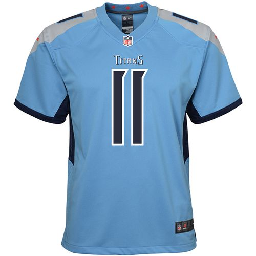 Youth Nike Tennessee Titans A.J. Brown Alternate Game Jersey (Light Blue)