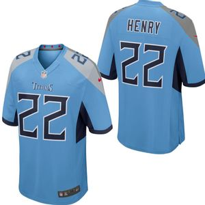 Men's Nike Tennessee Titans Derrick Henry Alternate Game Jersey (Coast)