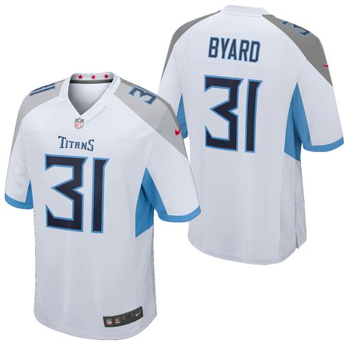 Men's Nike Tennessee Titans Kevin Byard Road Game Jersey (White)