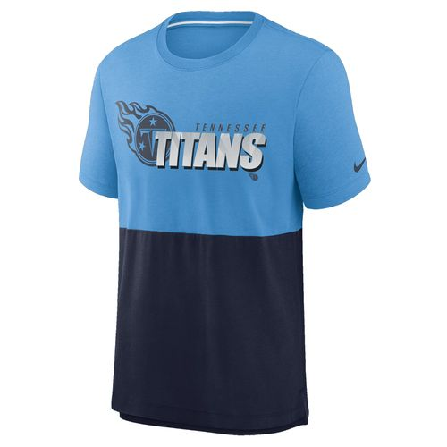 Men's Nike Tennessee Titans Logo T-Shirt (Coast/Navy)