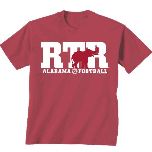 Men's Alabama Crimson Tide Roll Tide Roll T-Shirt (Chili)
