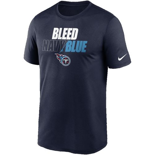 Men's Nike Tennessee Titans Bleed Team T-Shirt (Navy)