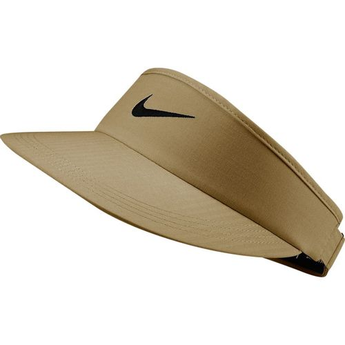 Nike Swoosh Adjustable Visor (Beige)