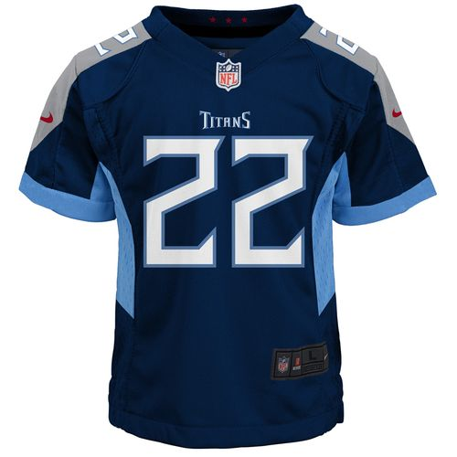 Kid's Nike Tennessee Titans Derrick Henry Game Jersey (Navy)