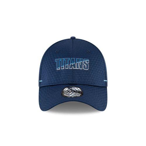 New Era Tennessee Titans Off Training Flex Hat (Navy)