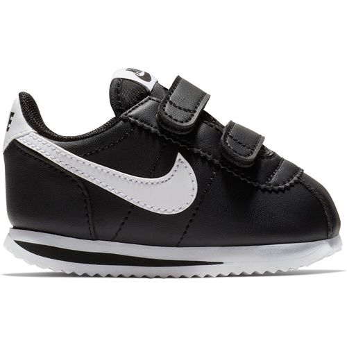 Toddler Nike Cortez Basic (Black/White)
