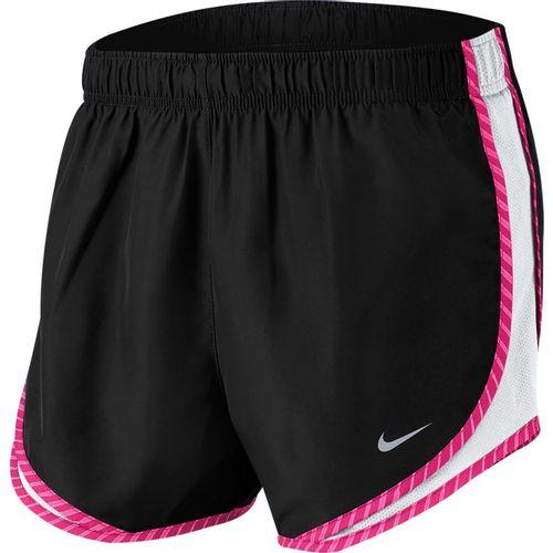 "Women's Nike 3"" Dry Tempo Short (Black/White/Pink)"