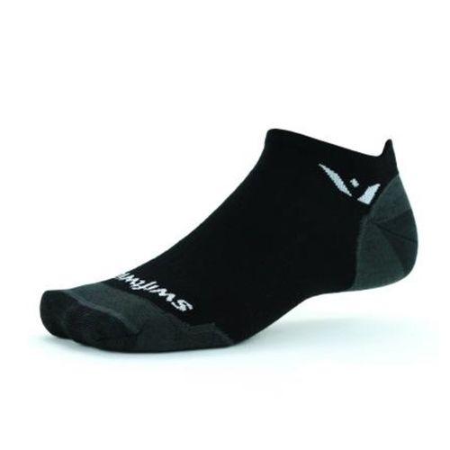 Swiftwick Pursuit Zero Tab Ultralight Sock (Black)