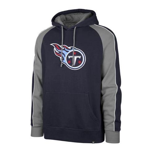 '47 Brand Men's Tennessee Titans Main Event Hooded Fleece (Navy)