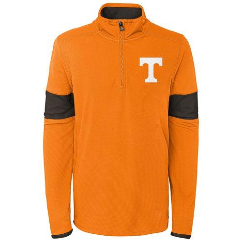 Youth Tennessee Volunteers 1/4 Zip Up Field Jacket (Orange)