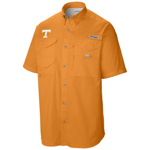 Men's Columbia Tennessee Volunteers Tamiami Button-Up Shirt (Orange)