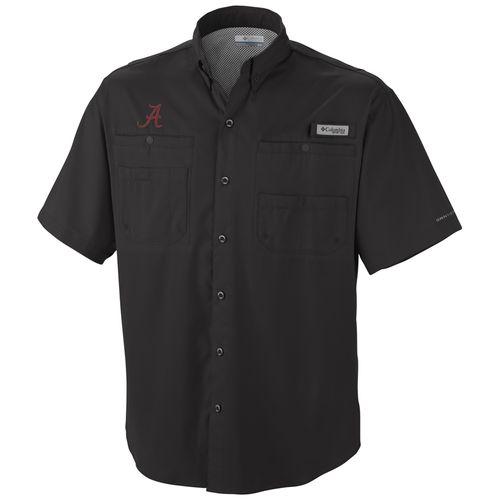 Men's Alabama Crimson Tide Tamiami Short Sleeve T-Shirt (Black)
