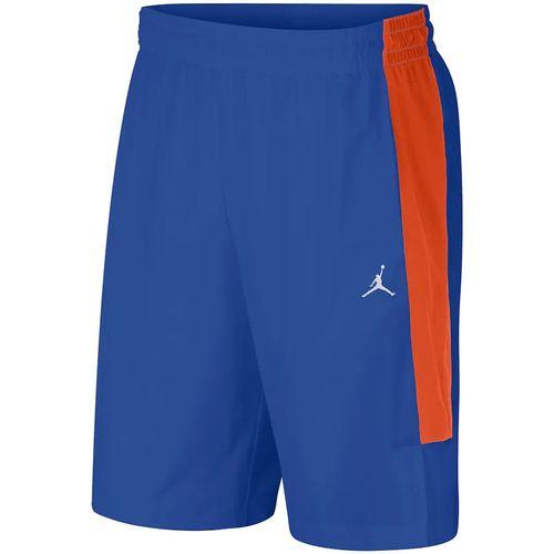 Men's Jordan Florida Gators Alpha Short (Royal Blue/Orange)