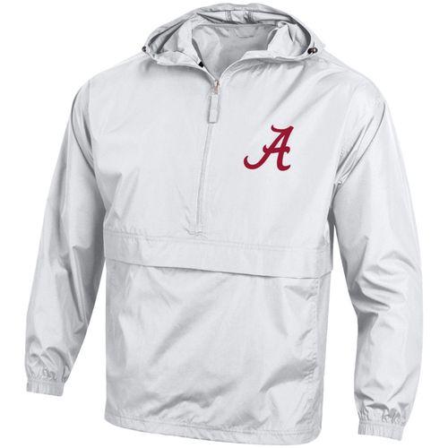 Men's Champion Alabama Crimson Tide Packable Jacket (White)