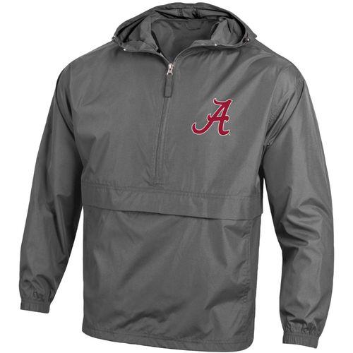 Men's Champion Alabama Crimson Tide Packable Jacket (Graphite)