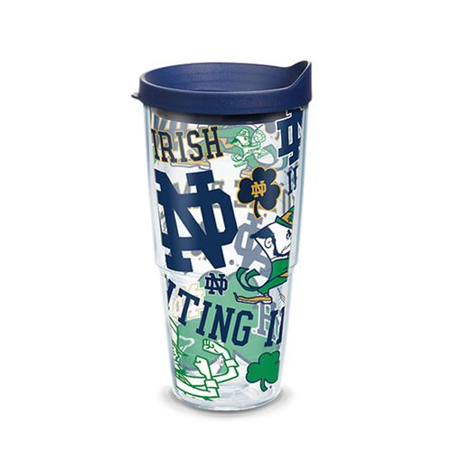 Notre Dame Fighting Irish All Over 24oz Tervis Tumbler
