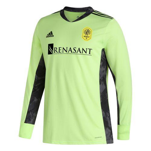 Men's Adidas Nashville Soccer Club Long Sleeve Goalkeeper Jersey (Green)
