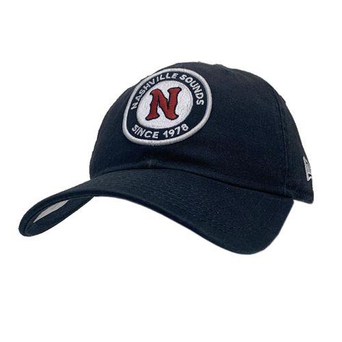 New Era Nashville Sounds 9Twenty Circle Logo Adjustable Hat (Navy)
