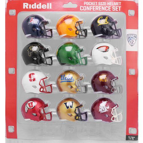 Pac 12 Conference Mini Helmet Set