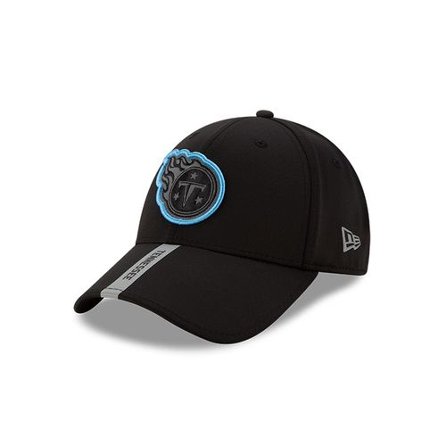 New Era Tennessee Titans 9Forty Adjustable Snapback Hat (Black/Silver)