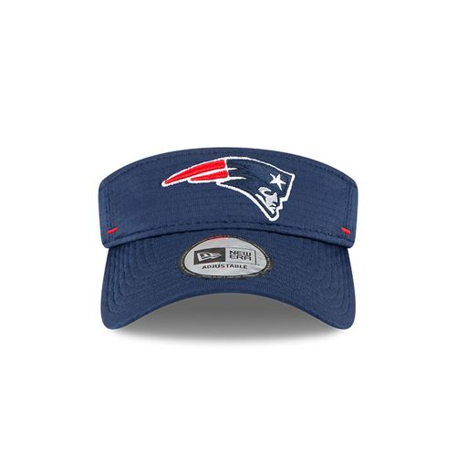 New Era New England Patriots Training Camp Adjustable Visor (Navy)