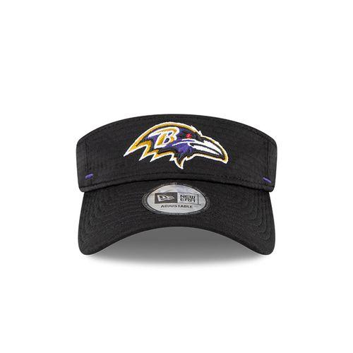 New Era Baltimore Ravens Training Camp Adjustable Visor (Black)